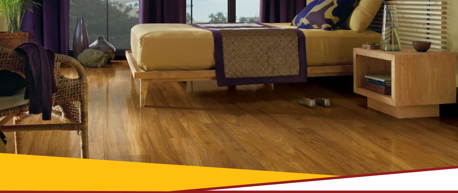 bedroom laminate flooring