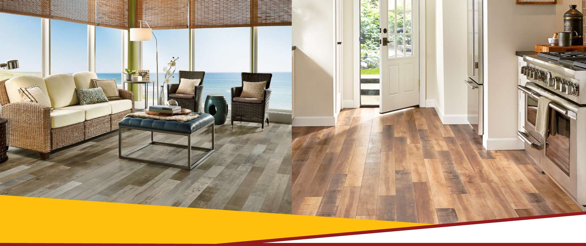 View of laminate flooring